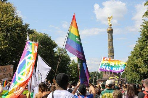Gaypride 2019 Tiergarten Siegessäule